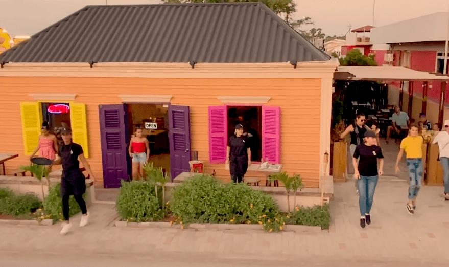 Jerusalema dance challenge zorgt voor danspret bij ondernemers op Bonaire