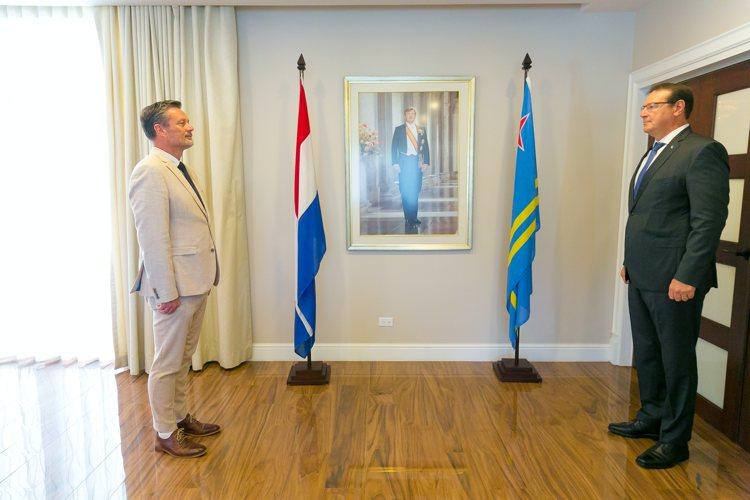 Ter Steege beëdigd als Procureur generaal bij het Openbaar Ministerie van Aruba