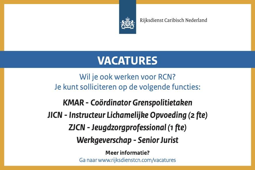 Vacatures Rijksdienst Caribisch Nederland Bonaire