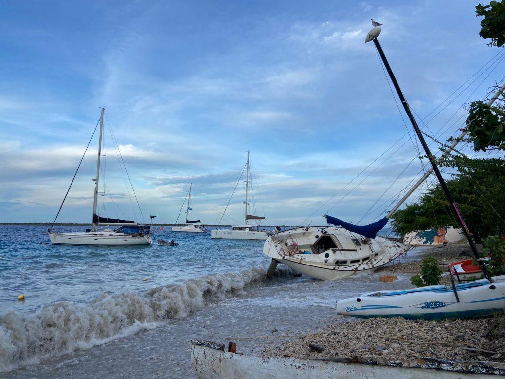 Storm zorgt voor schade op Bonaire