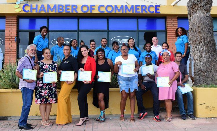 Eerste groep ondernemers op Bonaire hebben pilot KvK-Academy afgerond