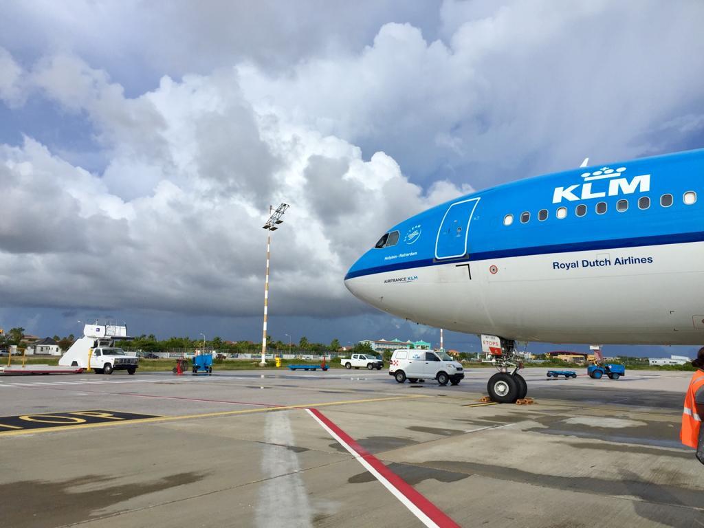 'KLM blijft vliegen op Bonaire'