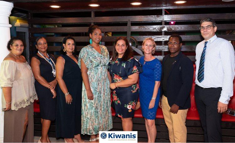 Kiwanis Club of Kralendijk Bonaire benoemt nieuwe Raad van Bestuur 2020-2021