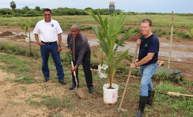 LVV start met planten fruitbomen