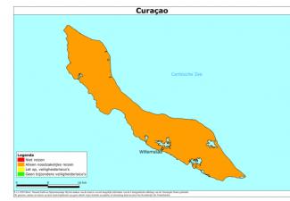 Reisadvies voor Curaçao code oranje