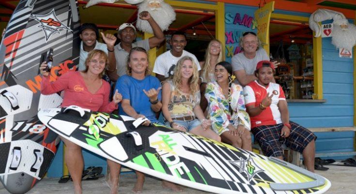 Jibe City Windsurf School Leer Windsurfen Op Bonaire