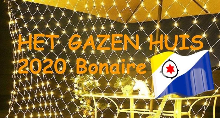 Gazen Huis Bonaire, een knipoog naar het Glazen Huis