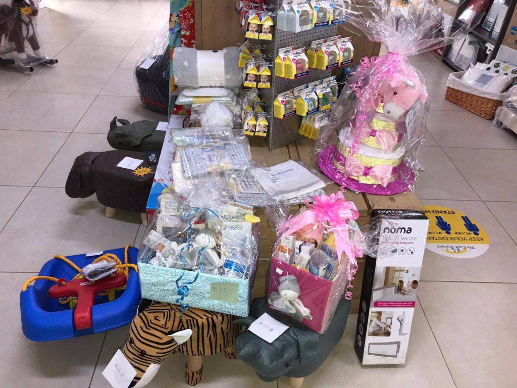 Babywinkel Bonaire Kraampakket