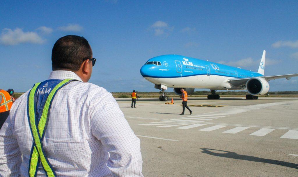 Vandaag geen tussenlanding KLM op Bonaire