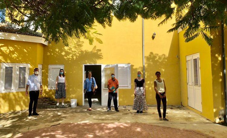 Voorbereiding vaccinatielocaties Bonaire bijna klaar