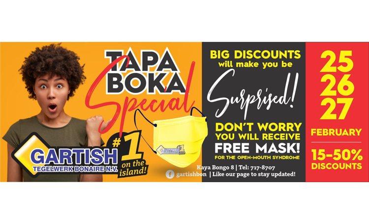 Gartisch Tapa Boka Special
