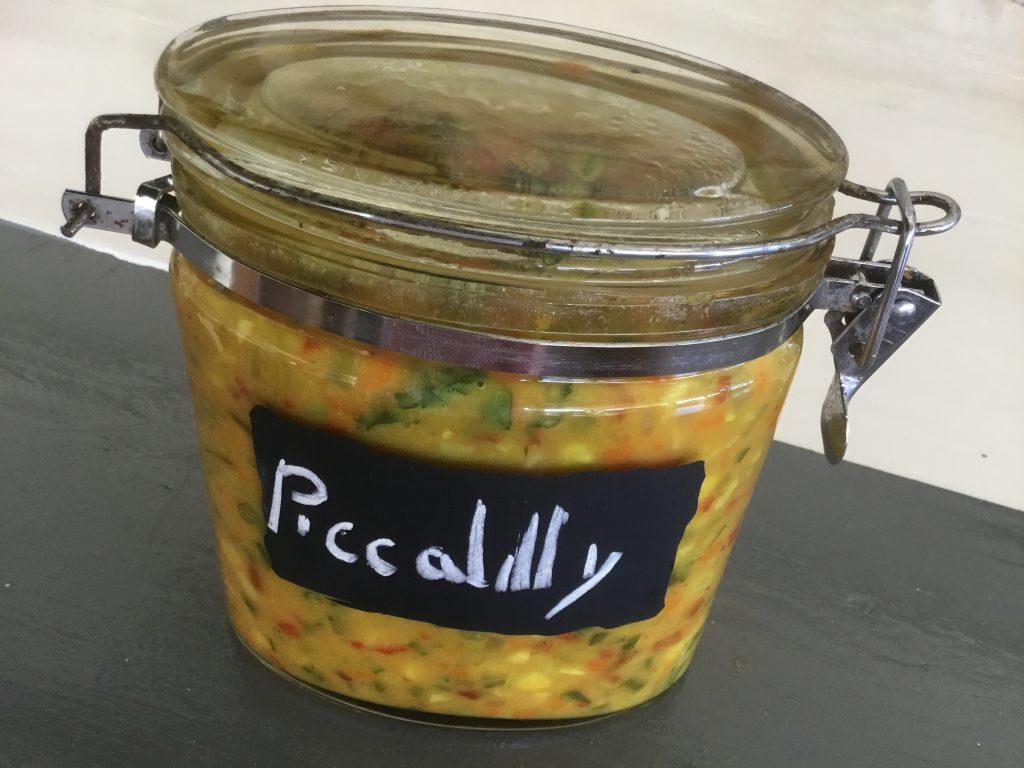 Koken met Corjan: Caribische piccalilly