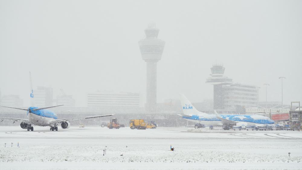 KLM vlucht Bonaire nog niet vertrokken