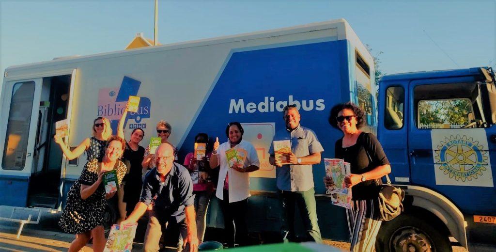 Mediabus zoekt vrijwilligers