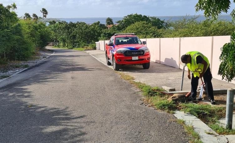 Brandweer controleert brandkranen op Bonaire