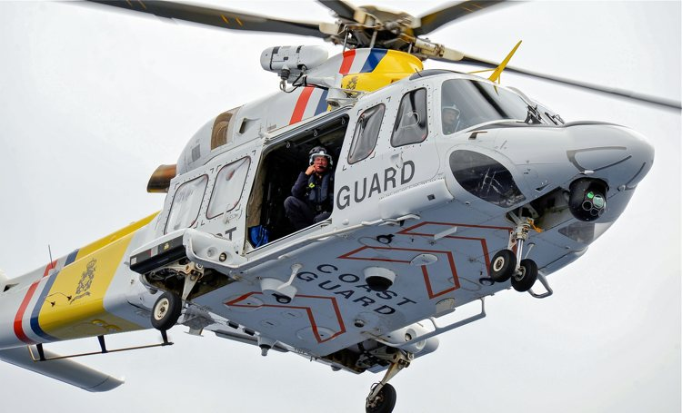 Kustwacht helikopter redt verdwaald meisje op Bonaire