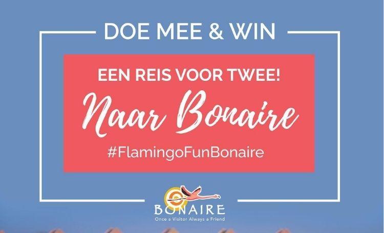 Doe mee en win een reis naar Bonaire