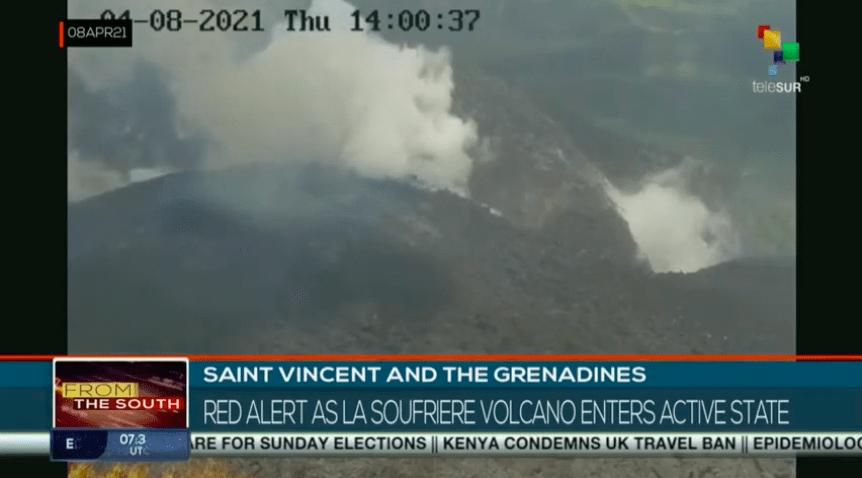 Vulkaan gassen tot nu toe geen gevaar voor Bonaire