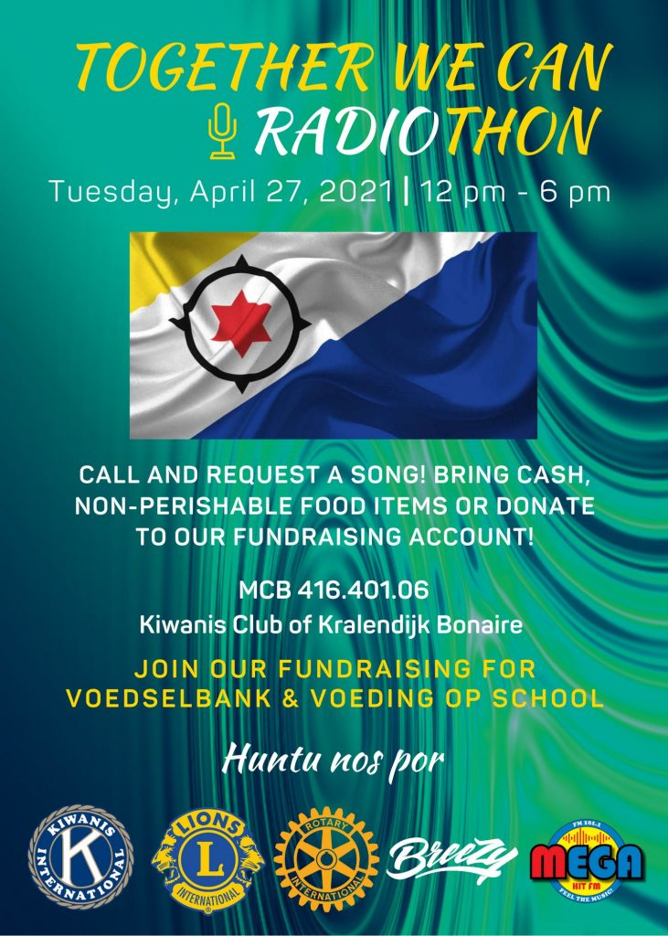Kiwanis, Lions & Rotary Radiothon Fundraiser
