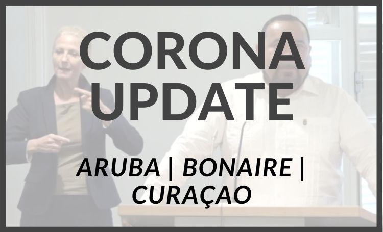 Weekend update actieve coronagevallen op Bonaire, Aruba en Curaçao