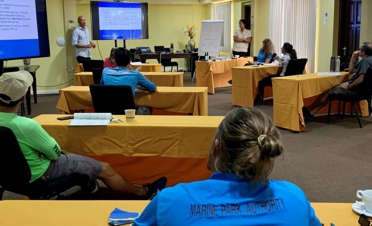 FPNA organiseert eerste workshop om koraalriffen te monitoren
