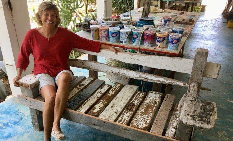 Germaine Nijdam 20 jaar kunstenaar op Bonaire