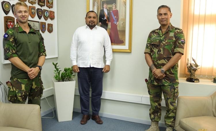 Militaire training op Bonaire afgesloten