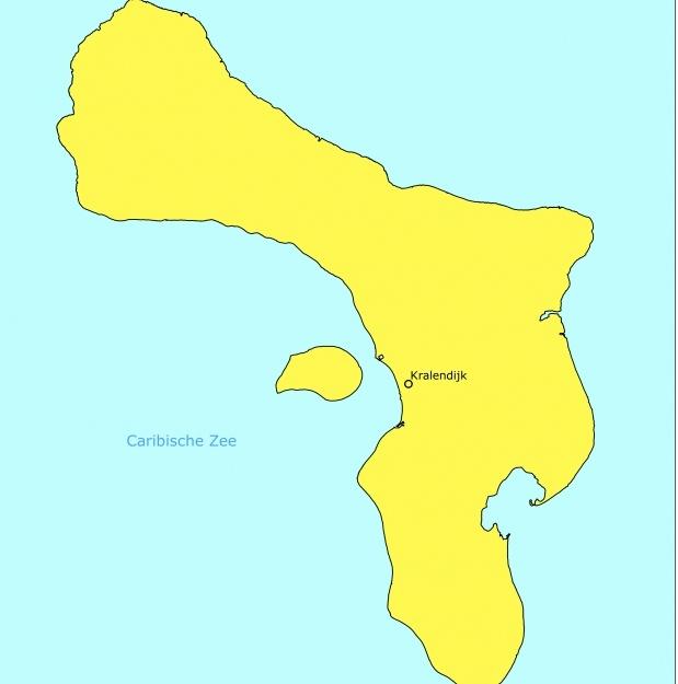 Reisadvies Bonaire vandaag naar code geel