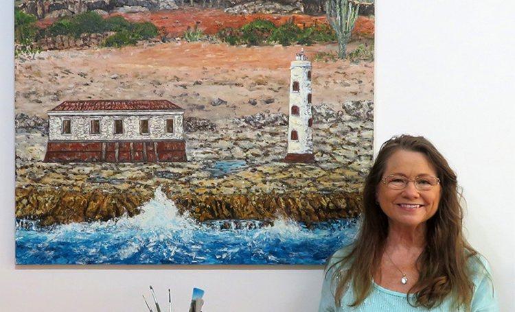 Foundation Save Plantation Bolivia veilt olieverfschilderij