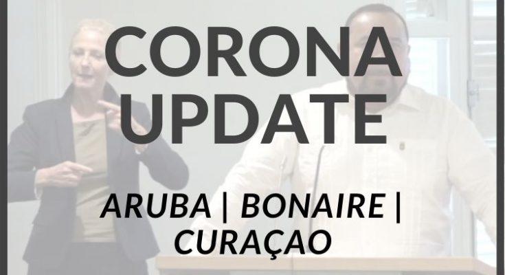Laatste cijfers Covid-19 van Curaçao, Bonaire en Aruba