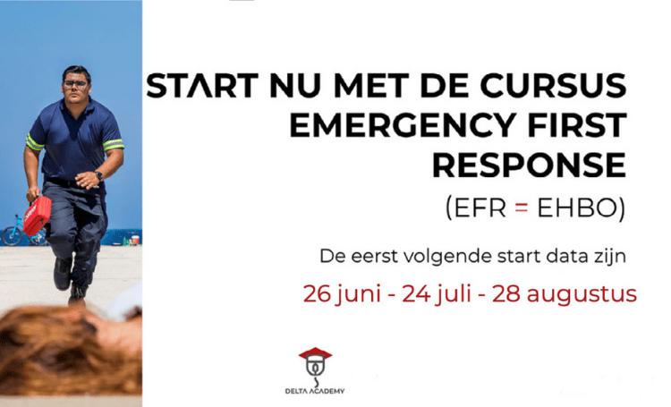 Start met de cursus EFR bij Delta Academy Advertentie