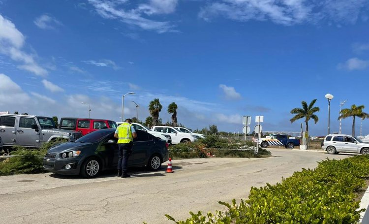 Actie preventief fouilleren en verkeerscontroles Koninklijke Marechaussee en KPCN