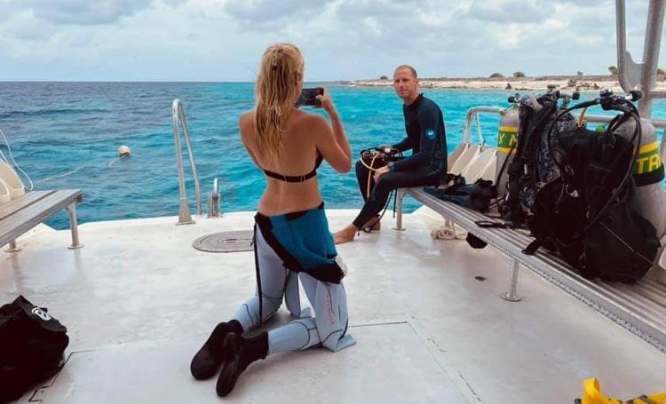 TCB host pers van National Geographic Traveler Nederland en DUIKEN Magazine