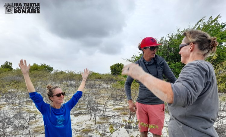 STCB start 3-jarige studie op neststranden Bonaire