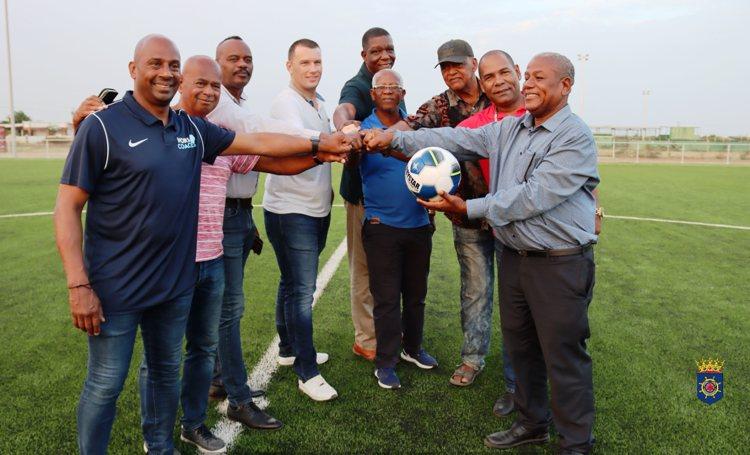 Voetbalclub ATC in Tera Corá ook kunstgrasveld