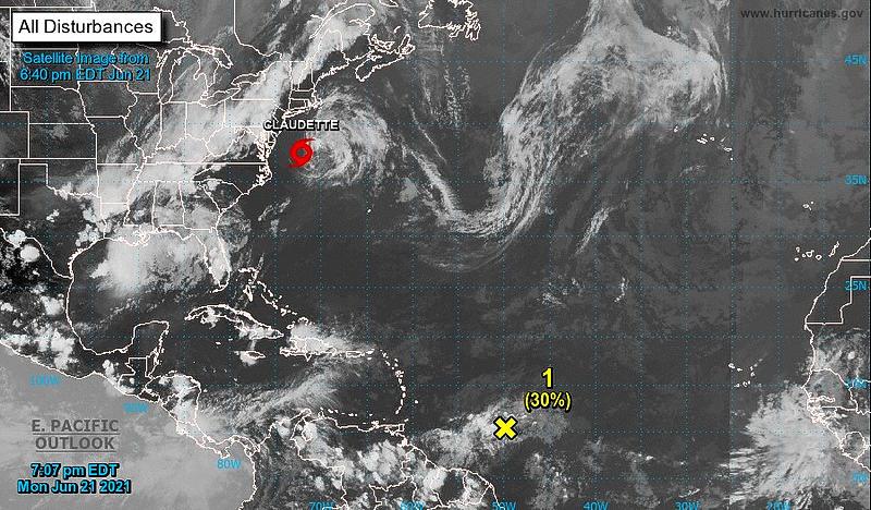 Tropical wave voorlopig geen risico eilanden