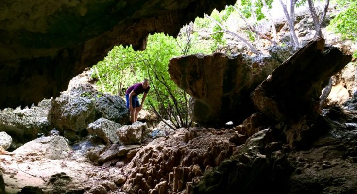 Ontdek de grotten van Bonaire