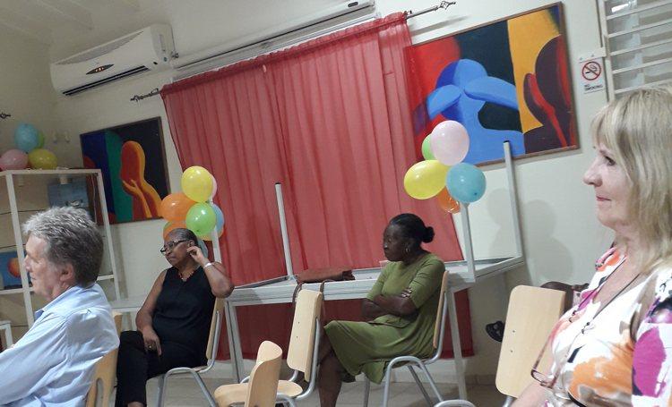 Bijeenkomst met vrijwilligers van Kas Flamboyan