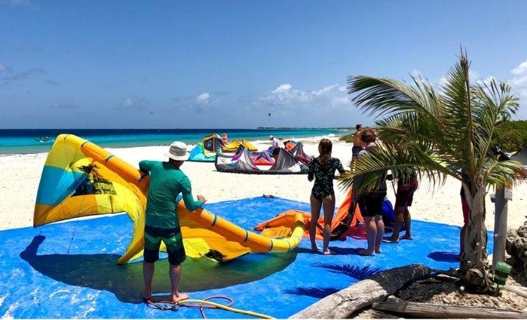 Kitesurfen op Bonaire