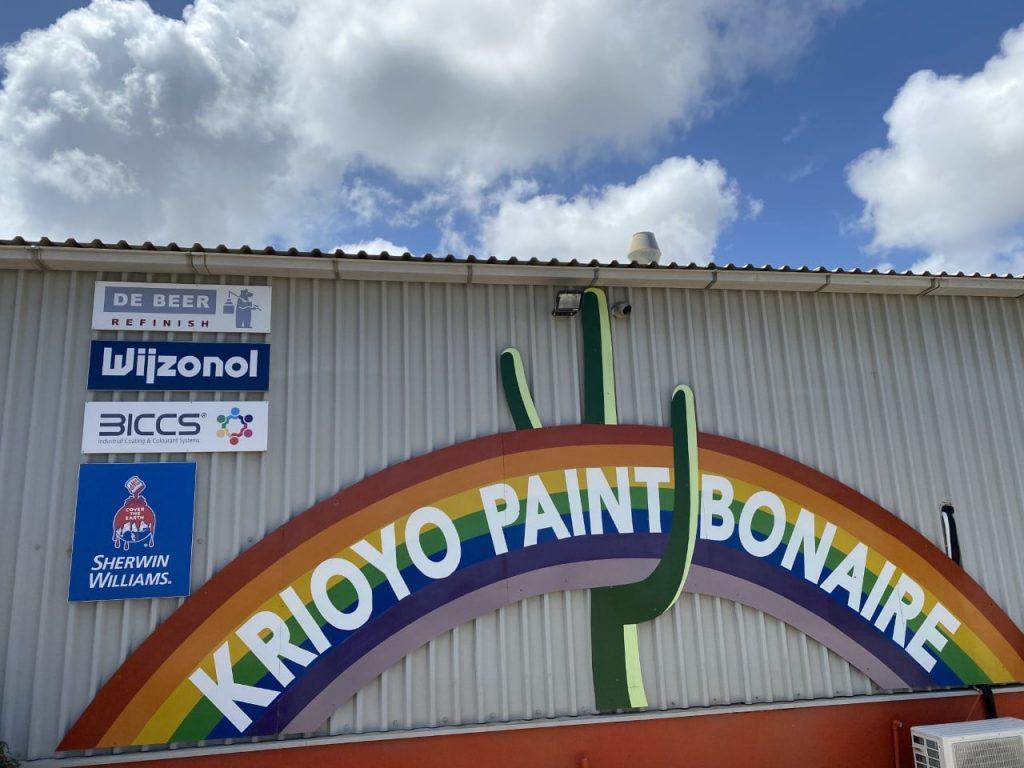 Krioyo Paint Bonaire