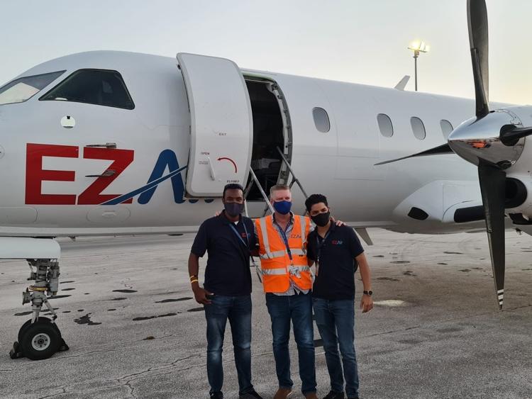 EZ Air ontvangt eerste Saab340