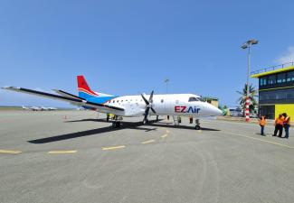 EZ Air voert demovlucht uit tussen Bonaire en St. Eustatius