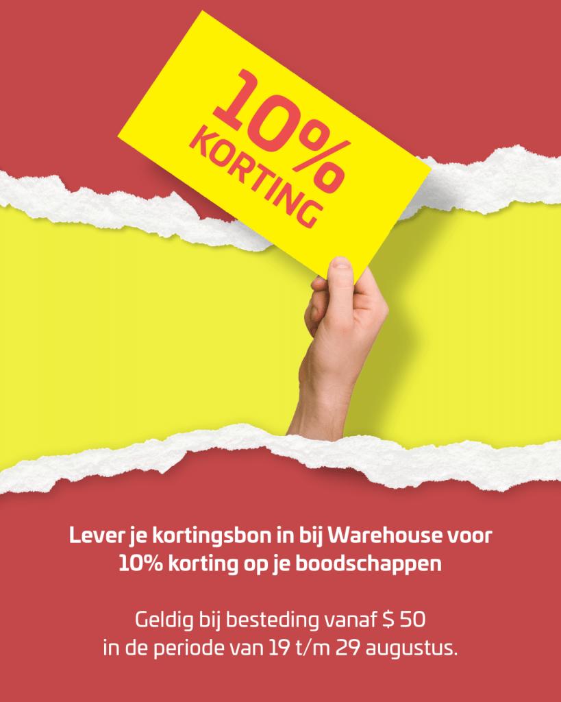 Grootse opening vernieuwde Warehouse Bonaire Advertentie