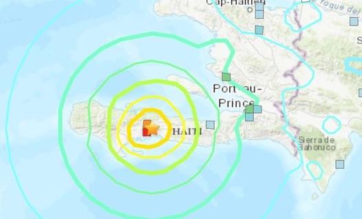 Haiti getroffen door zware aardbeving