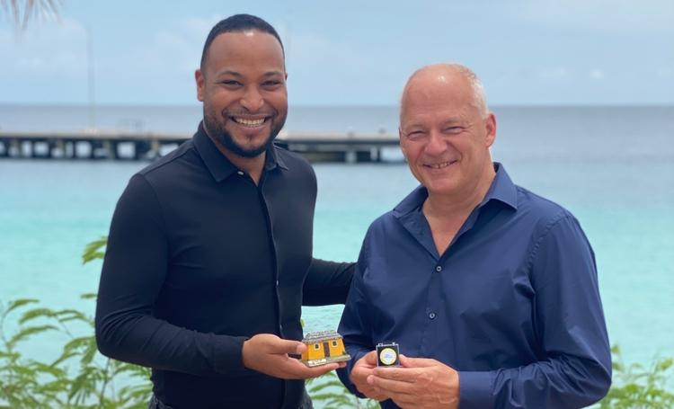 CEO van KLM Nederland, Harm Kreulen  erkend als Bonaire Ambassadeur