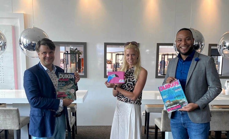 TCB Bonaire ontmoet partners in Nederland en België ter voorbereiding op seizoen 2022