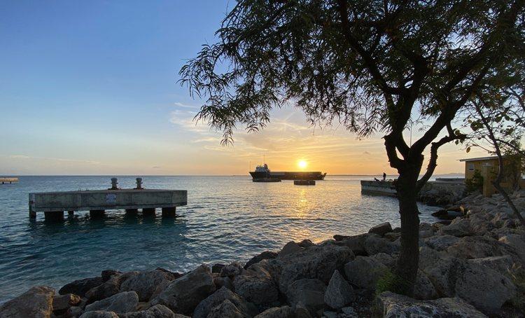 Het weer voor Bonaire, kans op wat regen