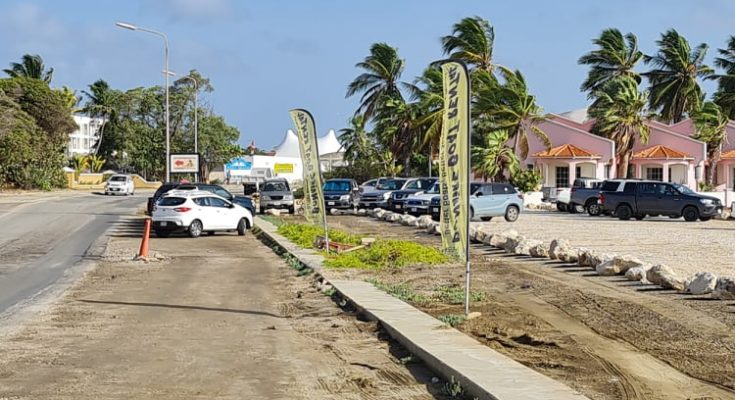 Noodweg jachthaven nu tot parkeerplaats gemaakt
