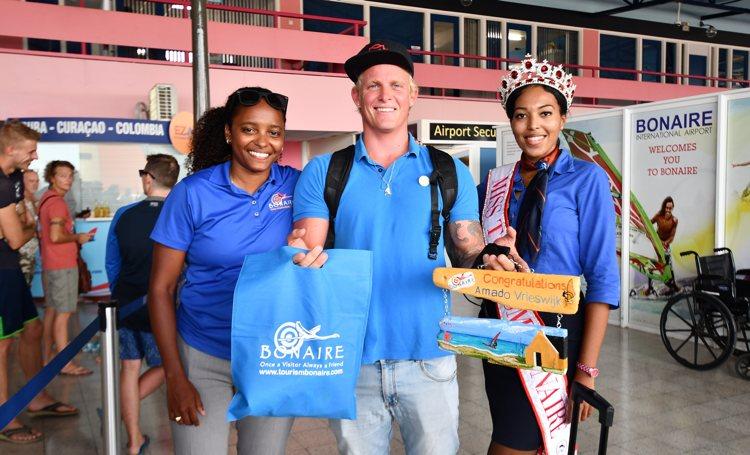 Europees Kampioen Amado Vrieswijk terug op Bonaire