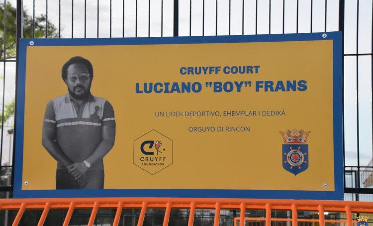 Bonaire opent tweede Cruyff Court